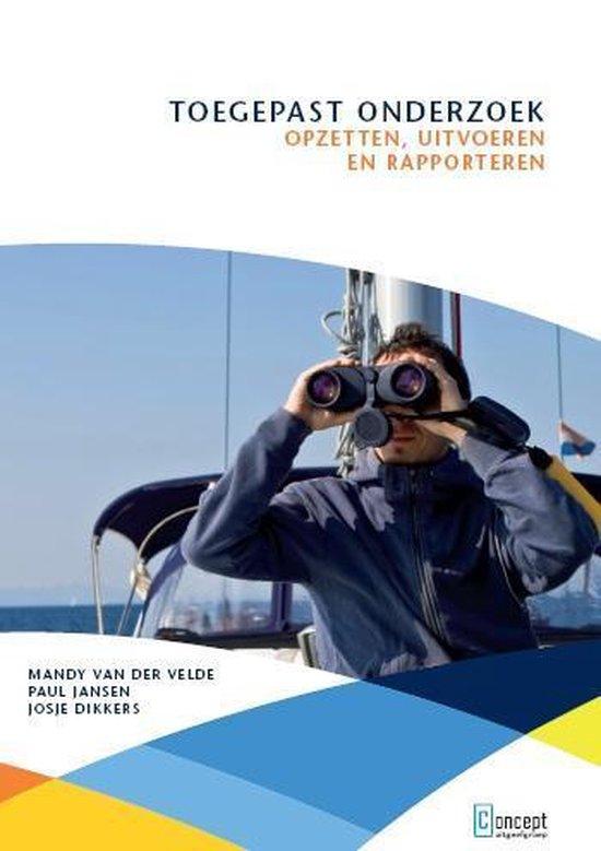 Boek cover Toegepast Onderzoek van Mandy van der Velde (Paperback)