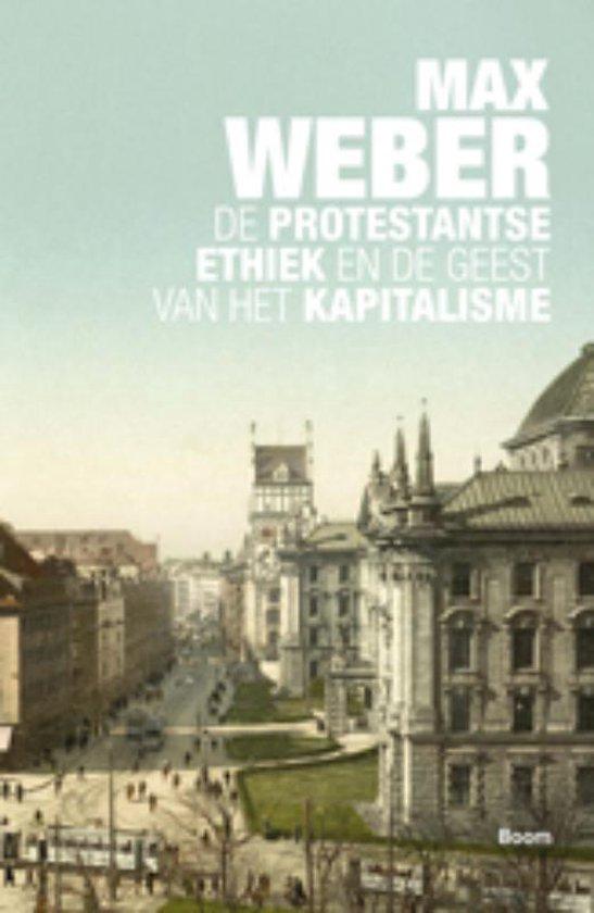 Boek cover De protestantse ethiek en de geest van het kapitalisme van Max Weber (Paperback)