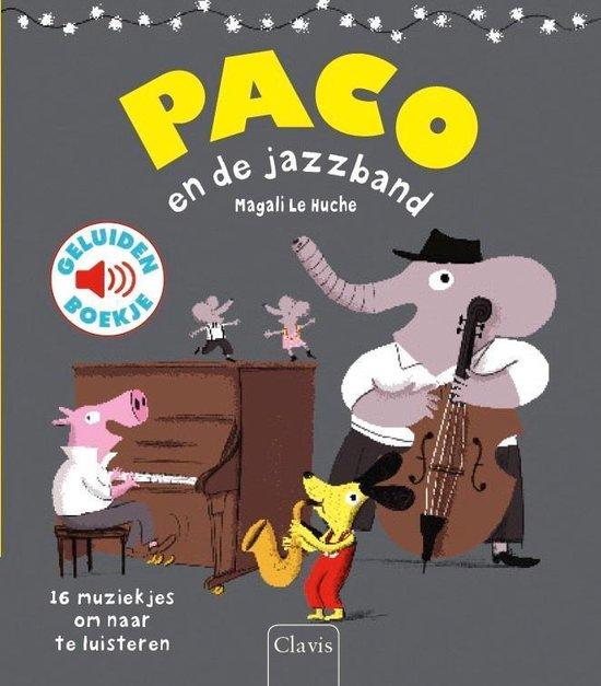 Boek cover Paco en de jazzband van Magali le Huche (Onbekend)