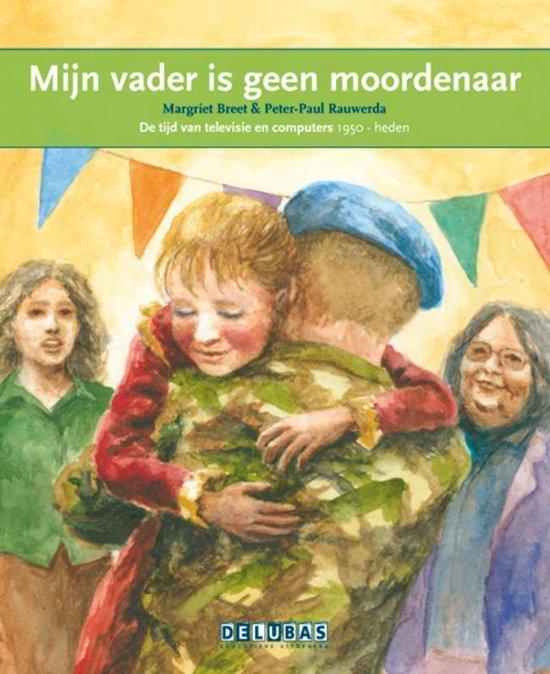 Boek cover Terugblikken leesboeken 47 -  Mijn vader is geen moordenaar Srebrenica van Margriet Breet (Hardcover)
