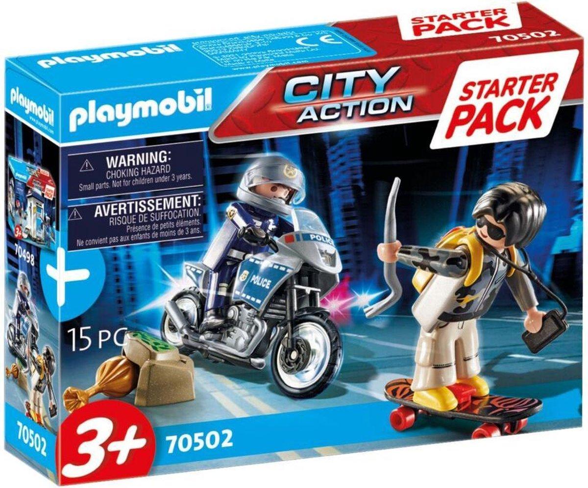 PLAYMOBIL City Action Starterpack Politie uitbreidingsset - 70502