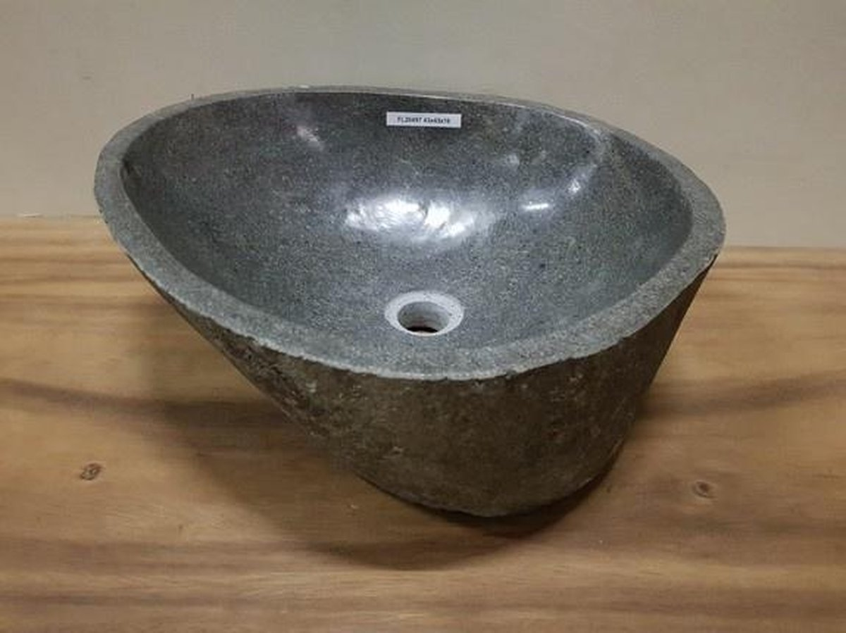 Waskom natuursteen FL20497 - 43x43x16cm