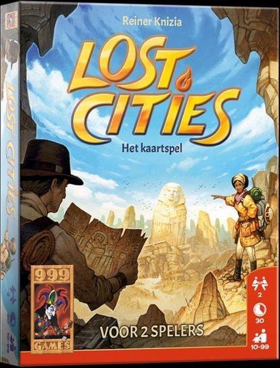 Lost Cities: Het Kaartspel - Kaartspel