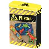 Blikje pleisters met dinosaurussen - 20 stuks