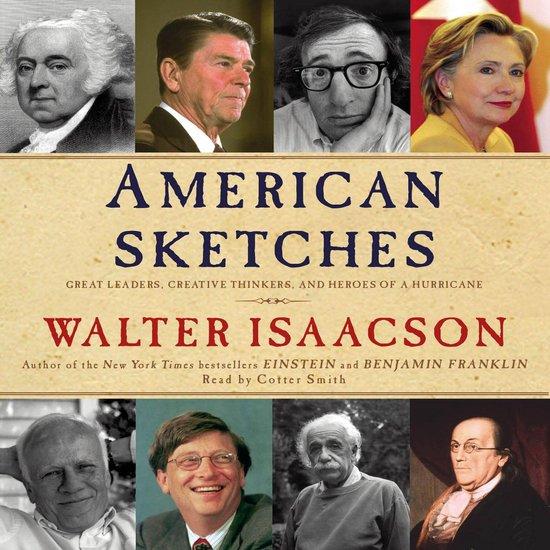 Boek cover American Sketches van Walter Isaacson (Onbekend)