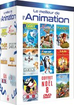 LE MEILLEUR DE L'ANIMATION ENFANT  - COFFRET 8 DVD