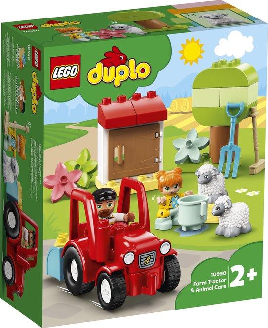 LEGO DUPLO Landbouwtractor en Dieren Verzorgen - 10950