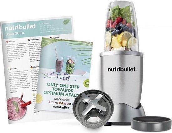 NutriBullet Special 600W 6-delig zilver Selectief