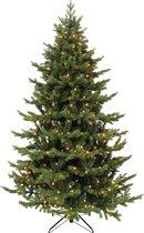 Black Box Trees Herwood Deluxe Kunstkerstboom met LED Verlichting - H230 cm - Groen