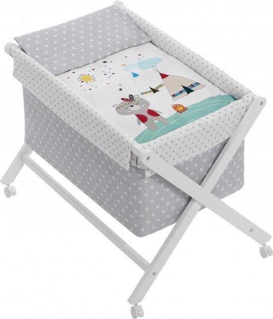 Product: INTERBABY Wieg set - Inclusief matras, dekbedovertrek en kussensloop, van het merk Interbaby