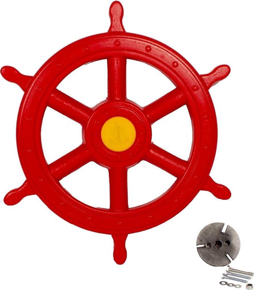 Piratenstuur Groot Rood