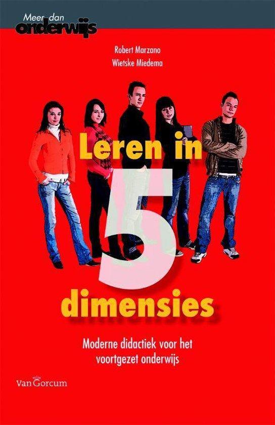 Leren in vijf dimensies - Robert J. Marzano  
