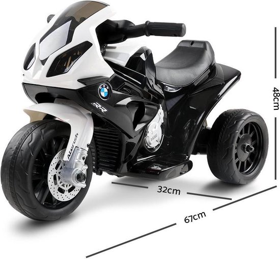 BMW S 1000 RR Elektrische kindermotor / kinderscooter / Zwart