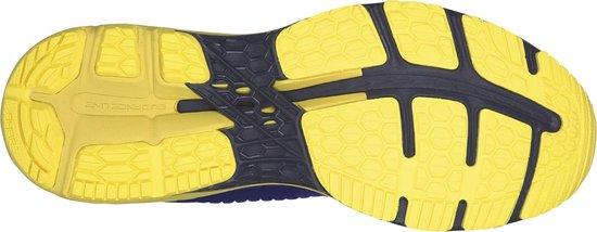 Asics Gel Kayano 20 Hardloopschoenen Heren Sportschoenen Maat 42.5 Mannen blauwgeelzwart