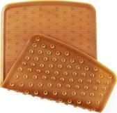 HEVEA Antislip Badmat |100% natuurrubber |Bruin|