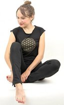 Yoga T-shirt Flower of life