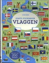 Eerste stickerboek vlaggen
