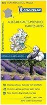 Alpes - de - haute provence , htes - alpes 11334 carte ' local ' ( France ) michelin kaart