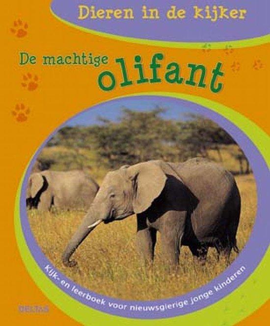 Cover van het boek 'De Machtige Olifant' van L. Fang-Ling