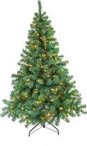 Excellent Trees® LED Stavanger Kunstkerstboom - 180 cm - Met verlichting -  350 lampjes - Groen