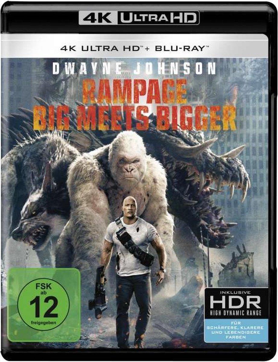 Rampage (2018) (Ultra HD Blu-ray & Blu-ray)-