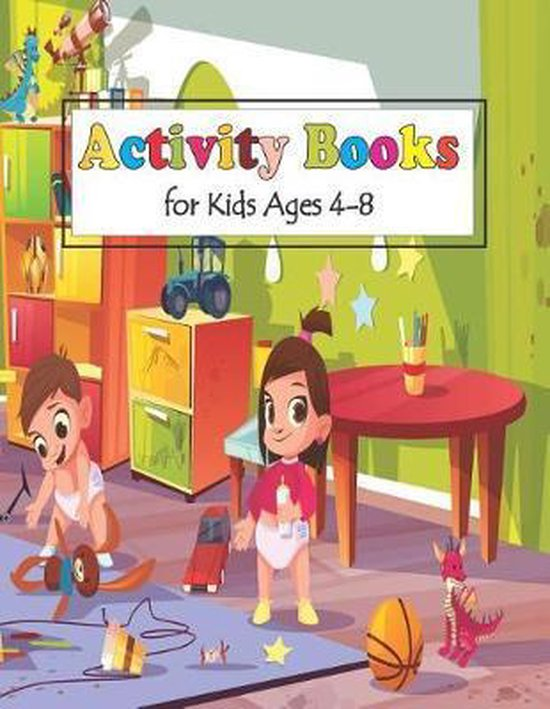Activity Books for Kids Ages 4-8