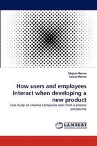 How Users and Employees Interact When Developing a New Product