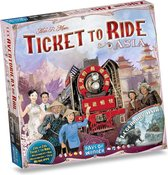 Ticket to Ride Asia - Uitbreiding - Bordspel