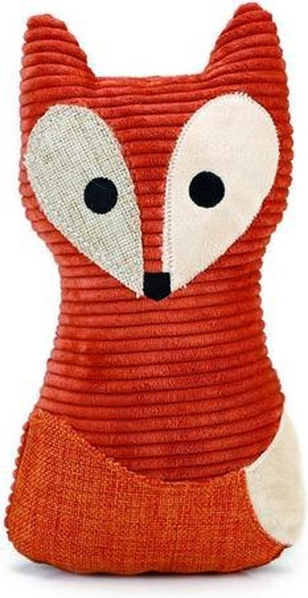 Designed by Lotte Vido Vos - Hondenspeelgoed - Oranje - 25,5 cm