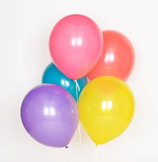 My Little Day - Gekleurde ballonnen - 10 stuks