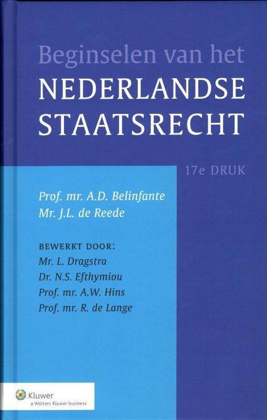 Afbeelding van Beginselen van het Nederlands staatsrecht