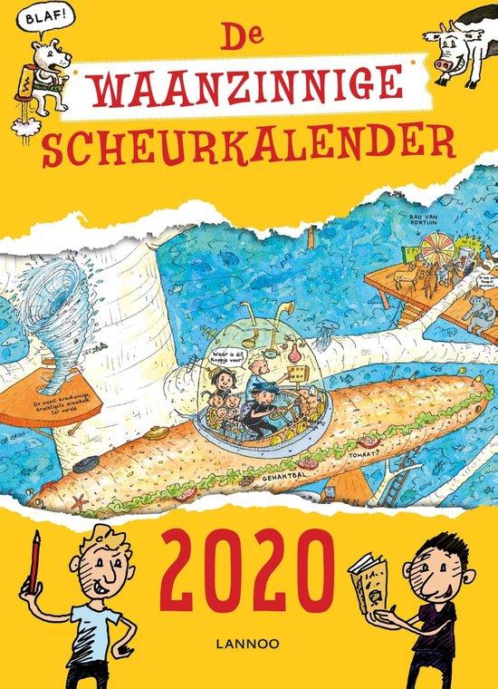 Afbeelding van De waanzinnige boomhut - De waanzinnige scheurkalender 2020