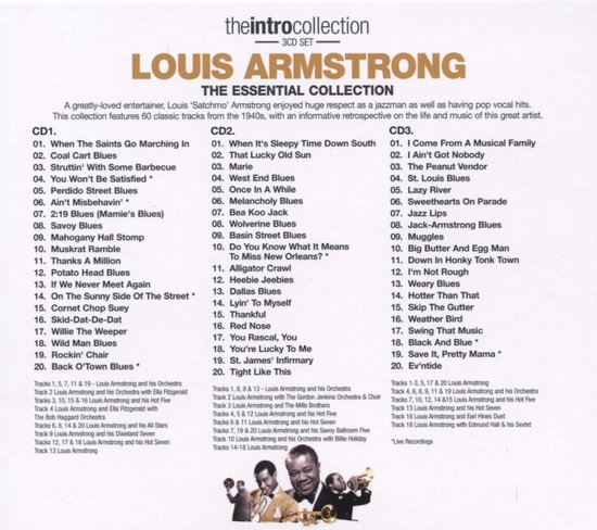 The Essential Louis Armstrong Colle