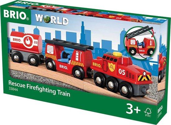 Afbeelding van BRIO Trein van de brandweer - 33844 speelgoed