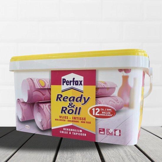 Perfax Ready & Roll Vliesbehanglijm - Behanglijm - Vliesbehang Behangplaksel - 2.25 Kg - Transparant