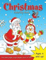 Christmas Coloring Book for Kids Ages 4-8!