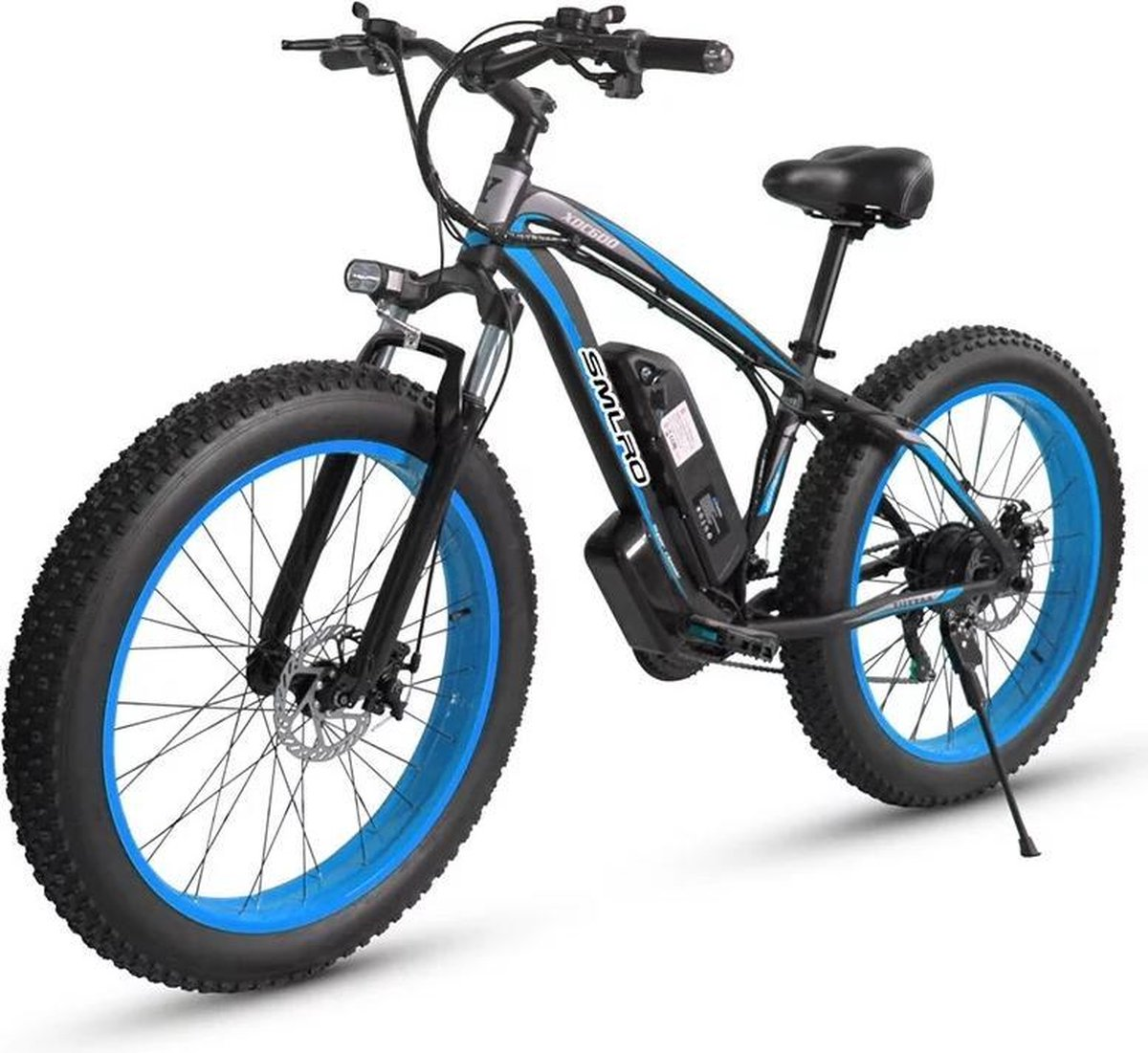 "Matrix E Bike  - SLMRO XD100 -Elektrische Fiets - Elektrische Fatbike - 1000W 26 ""x 4.0 Fat tire Mot"