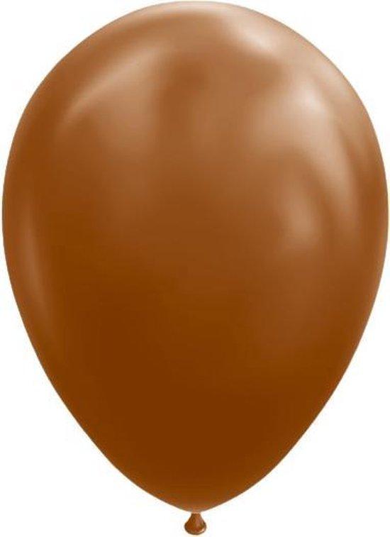 Globos Ballonnen 30 Cm Latex Bruin 10 Stuks