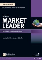 Boek cover Market Leader Extra 3ed - Adv coursebook + DVD-ROM van Margaret OKeeffe