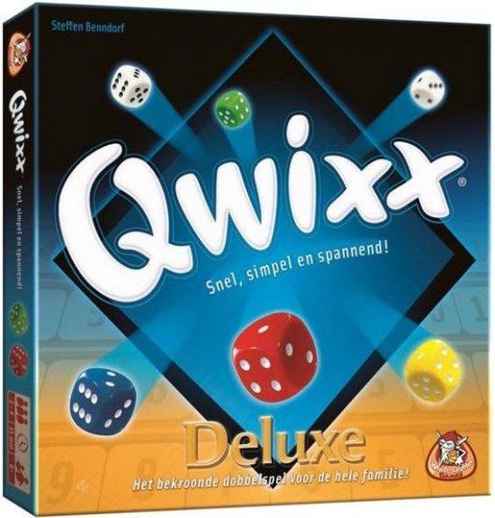 Afbeelding van het spel Qwixx Deluxe - Dobbelspel