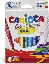 Carioca viltstiften Magic, 10 stiften in een kartonnen etui