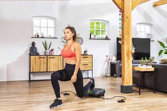 Tunturi Cardio Fit V10 Trilplaat - Vibration plate - met stoel