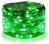 InstaLights - Fairy Lights - 40 LED´s - Groen / Green - Inclusief 2 AA Batterijen - LED Lampjes Slinger - Werkt op Batterijen - Lichtsnoer voor Binnen en Buiten