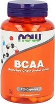 Now - BCAA 800 mg (Branched Chain Amino Acids) (120 capsules) - Aminozuren