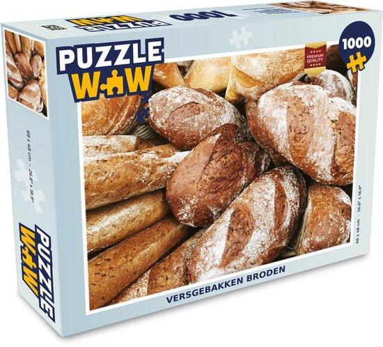 Puzzel 1000 stukjes volwassenen Brood 1000 stukjes - Versgebakken broden  - PuzzleWow heeft +100000 puzzels