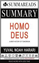 Omslag Summary of Homo Deus: A Brief History of Tomorrow by Yuval Noah Harari