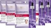 L'Oréal Paris - Revitalift Filler Hyaluronzuur Tissue Gezichtsmasker - 5 Stuks - Voordeelverpakking