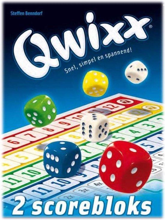Afbeelding van Qwixx Blocks - Scoreblocks speelgoed