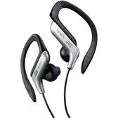 JVC HA-EB75-S - Ear-clip Sport oordopjes - Zilver