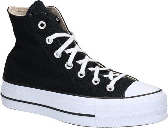 Converse All Star Lift Zwarte Sneakers Dames 36,5